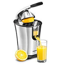 Gourmia EPJ100 Stainless Steel Power Citrus Press