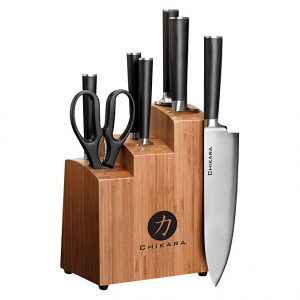 Ginsu 7108 Chikara 8-Piece Stainless Steel Knife Set