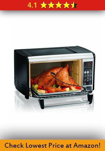 Hamilton Beach 31230 Set Forget Toaster Oven with Convection Cooking
