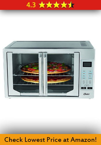 Oster TSSTTVFDDG Digital French Door Oven Stainless Steel