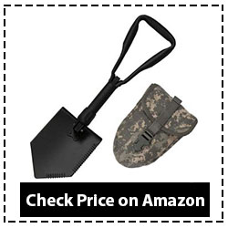 US GI Military Original Issue E-Tool Entrenching Shovel