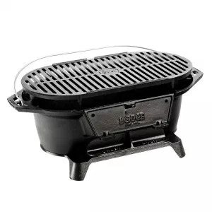 Lodge L410 Sportsman's Charcoal Grill