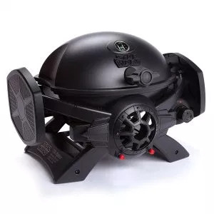 Star Wars TIE Fighter Gas Grill Review