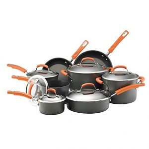 Rachael Ray Hard Anodized II Nonstick Cookware Set Review