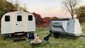 Portable Pop Up Cabin Trailer
