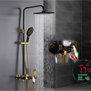 BTSSA Digital Display Shower Set