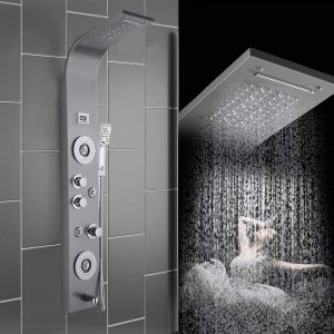 MAOFALZZNA Embed Ceiling Rainfall Showers Set