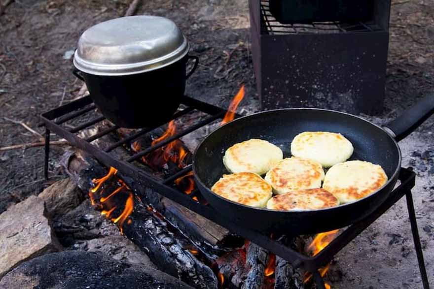 Pancakes For Camping