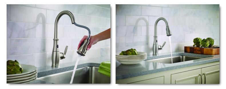 Moen 7185ESRS Kitchen Faucet