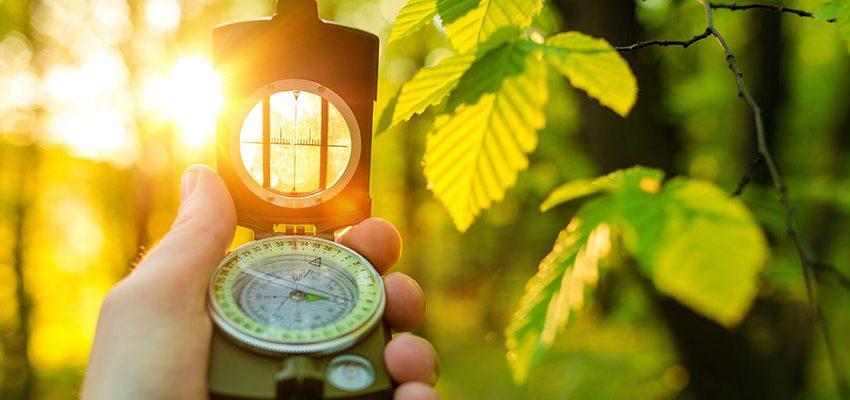 A Lensatic Compass