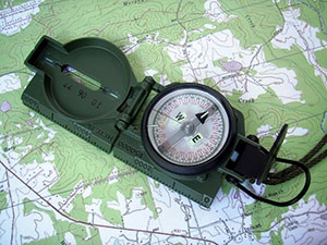 Using a Lensatic Compass